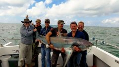 Nick Lanes 368 pound Thresher Shark